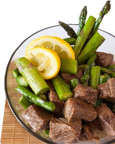 Lean cuts of red meat provide iron while still maintaining a low-fat diet.