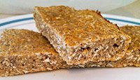 EGG WHITE OATMEAL BARS