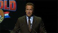 Arnold Schwarzenegger Gives Thanks Replay