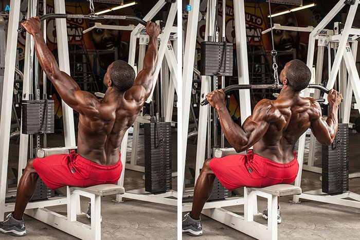 Front Vs Rear Pull Downs Which Is Better Bodybuilding Com