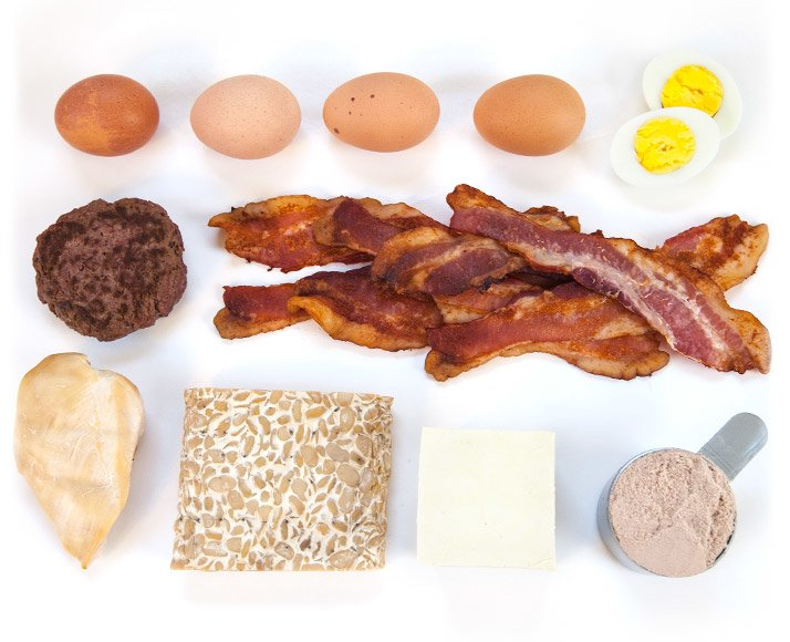 how many grams of protein in chicken breast per ounce