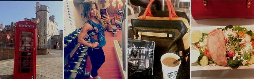 Fit On The Go: Jen Jewell's Fitness-Model Travel Plan!