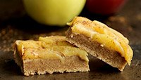 Gluten-Free Apple Pie Protein Bars
