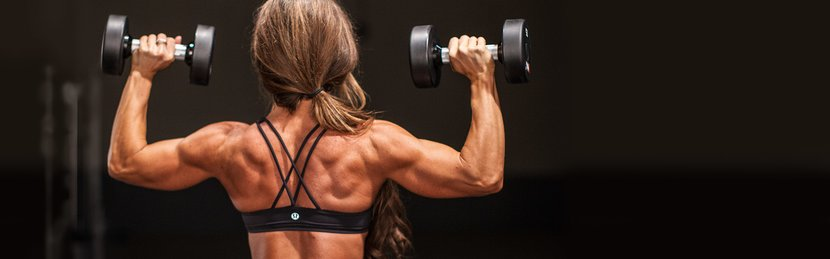 Jen Jewell's Laws Of Shoulder Training