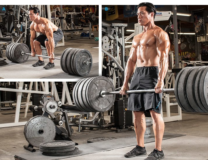 Deadlifts before and after