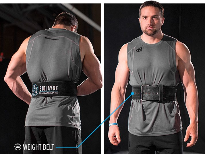 wearing a belt will weaken your core is just plain wrong