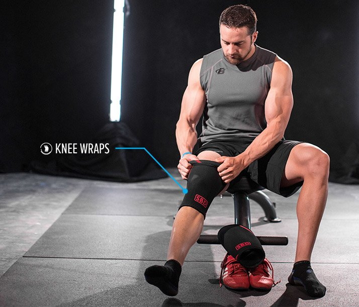 I also like to know that it's me moving the weight, and that I'm not getting a PR because of knee wraps.