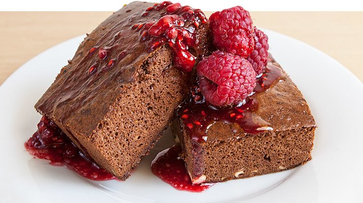 Check out the Healthy Recipe Database for ways to make delicious protein brownies, cupcakes, ice cream, and more!