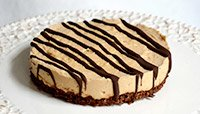 Jamie Easons Peanut-Butter Chocolate Protein Pie