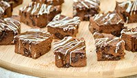Triple Chocolate Fudge Protein Brownies