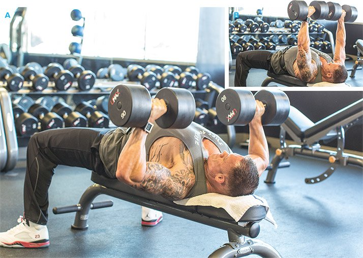 Jason Wheats Big And Strong MVP Chest Workout