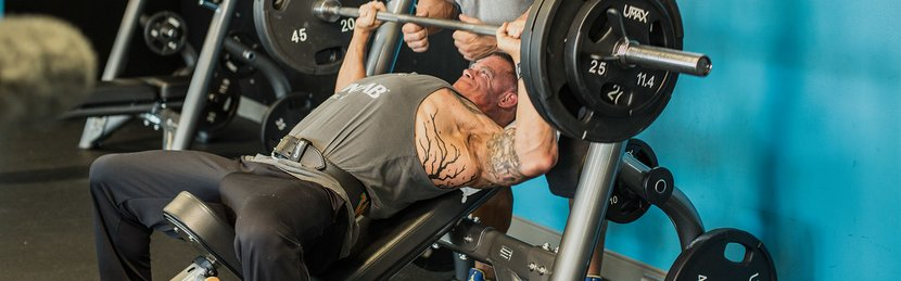 Jason Wheat's Big And Strong MVP Chest Workout
