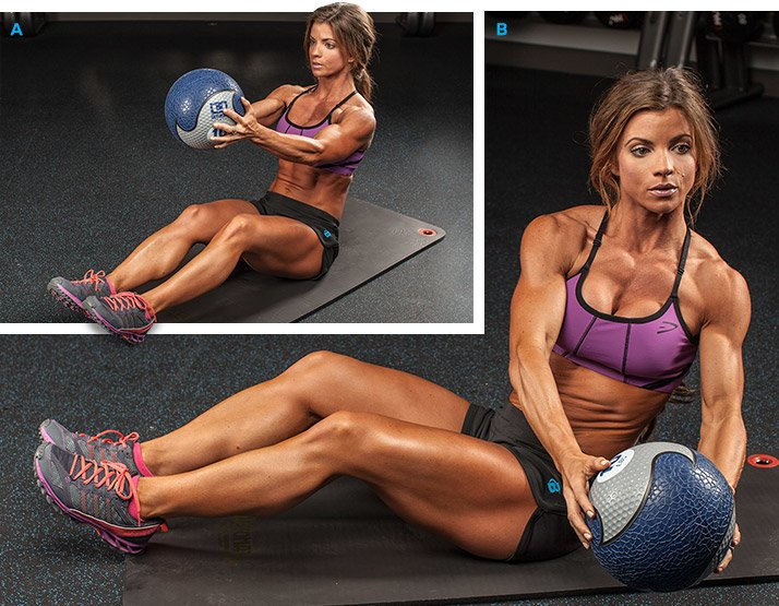 Jen Jewell's Plan For Abs That Pop