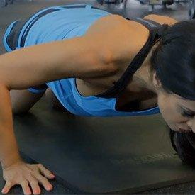 Knee push-up