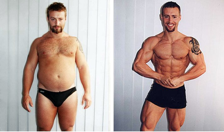 Kris Gethin - Before and After