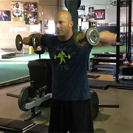 L-lateral raise with long-lever eccentric
