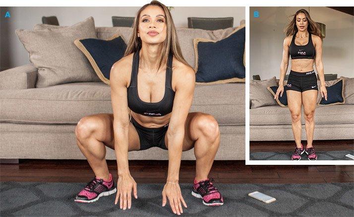 Big 5 Workout Bench DIY BLOG Weight Position
