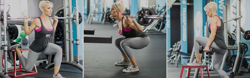 Legs Like Jessie's: Hilgenberg's 7-Move Workout