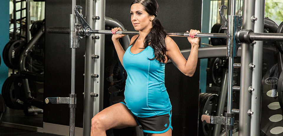 Lifting For Two Nicole Moneer S Full Body Pregnancy Workout