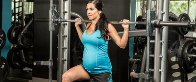 Lifting For Two: Nicole Moneer's Full-Body Pregnancy Workout