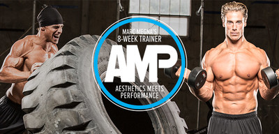 AMP: Marc Megna's 8-Week Aesthetics Meets Performance Trainer, Nutrition And Supplements