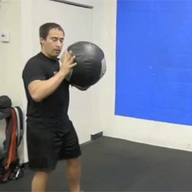 Medicine-ball punch throw