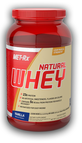 Met-rx 100 natural whey