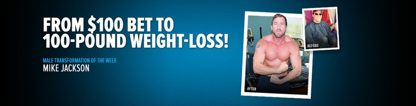 From $100 Bet To 100-Pound Weight-Loss!