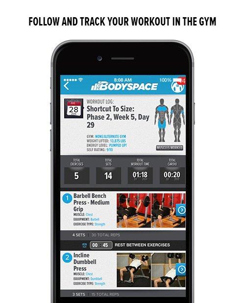 BodySpace app