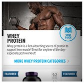 Bodybuilding.com Store App Example 4