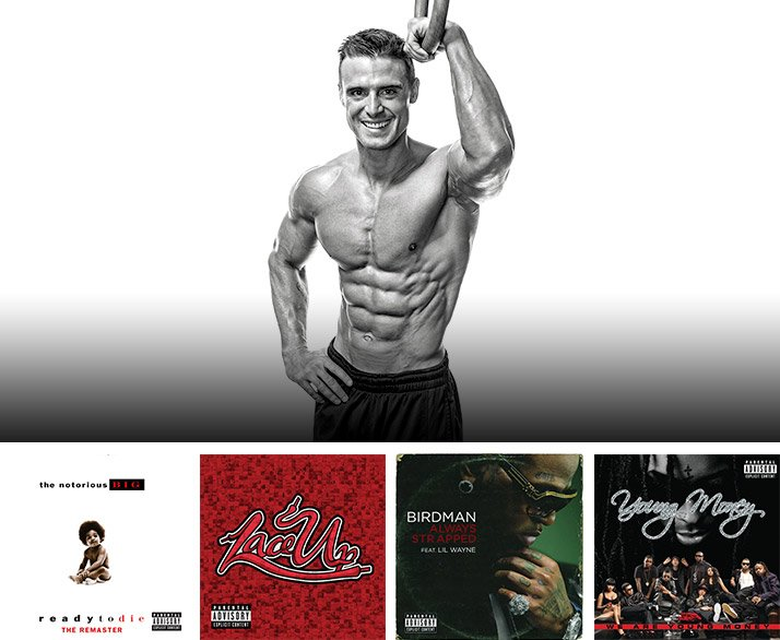 MusclePharm Workout Music: Flo Rida And Cory Gregory