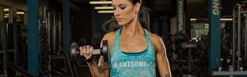 Positively Powerful Arms With Slow Negative Reps