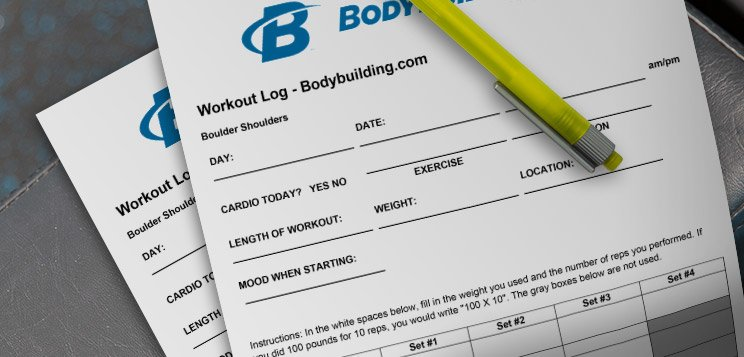 Workout Tracking Form