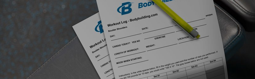 Printable Workout Log - Create Your Own!
