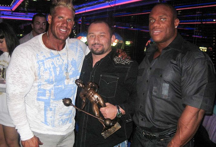 Haney Rambod, Jay Cutler, and Phil Heath