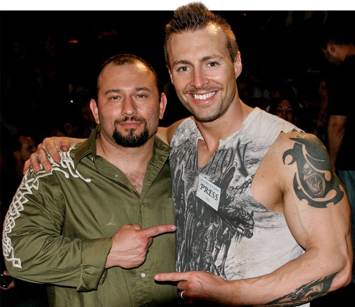 Haney Rambod and Kris Gethin