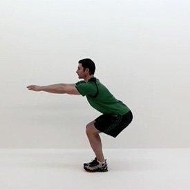 Ski squat