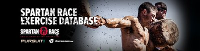 Spartan Race Exercise Database banner