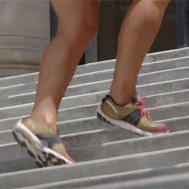 Stair grapevine