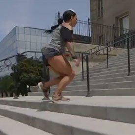 Bounding sprint