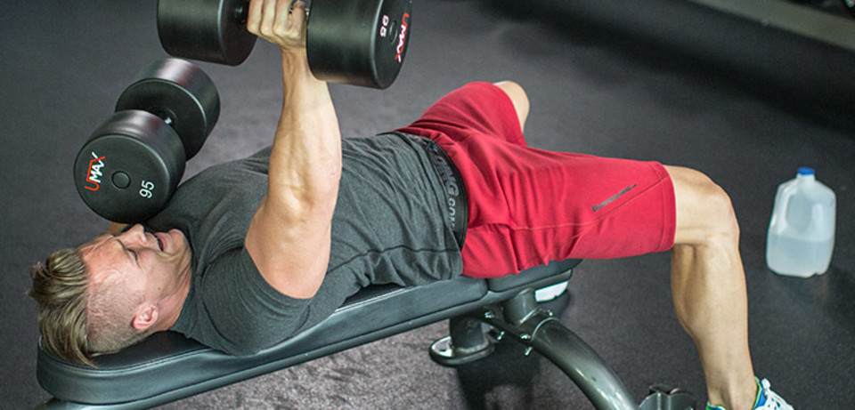 Steve Cook's 6-Exercise Chest-Building Workout