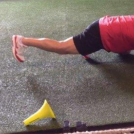 Straight-leg heel raise (shift hips back)