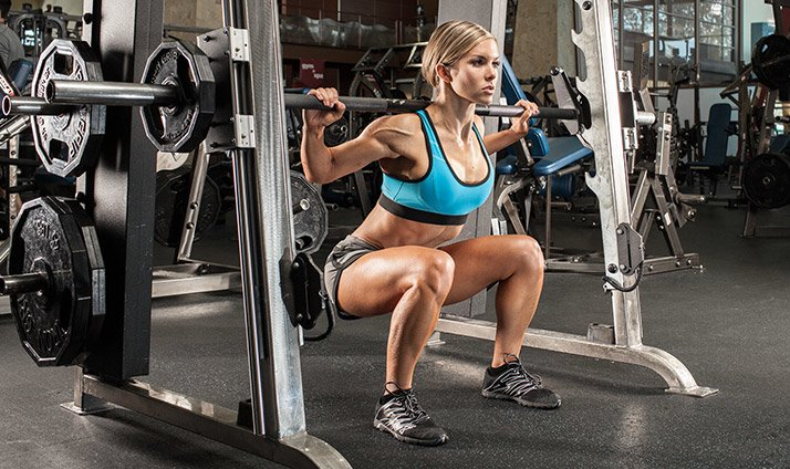 Limit your quad work to compound exercises like squats and lunges.
