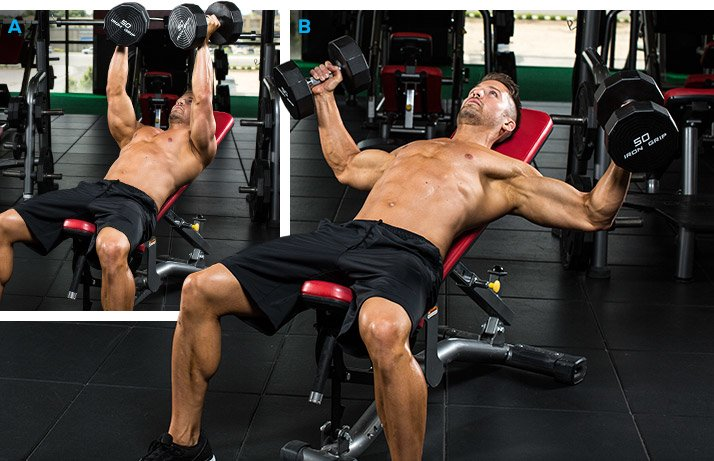 Image result for INCLINE DUMBBELL FLYES