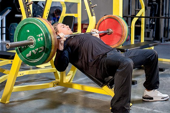 This Isn 39 T Technically Correct But It S Really A Completely Diffe Movement Than Your Standard Bench Press Eliminates The Use Of Lower Body In