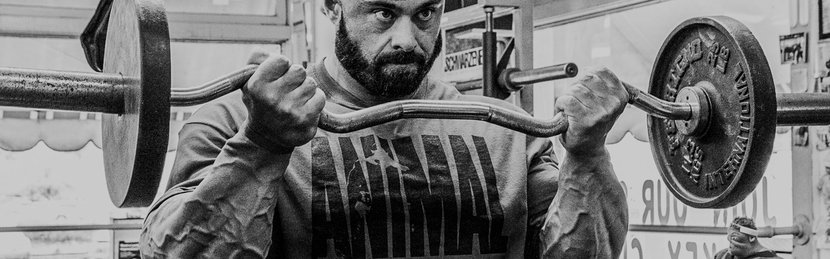 The Guns Of Wrath: Frank McGrath's Biceps And Forearms Smoker