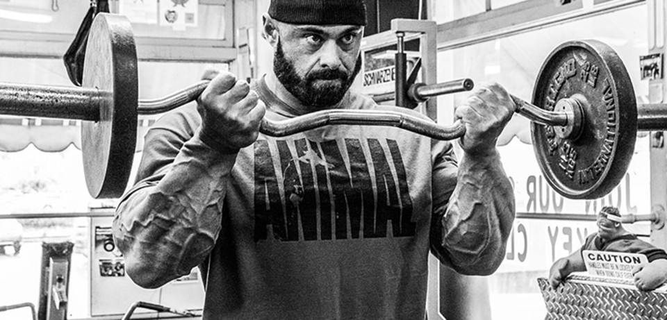 The Guns Of Wrath: Frank McGrath\'s Biceps And Forearms Smoker