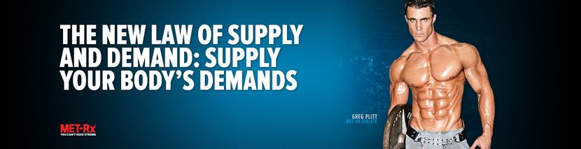 The New Law Of Supply And Demand: Supply Your Body's Demands