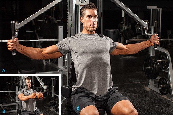 chest machine workouts