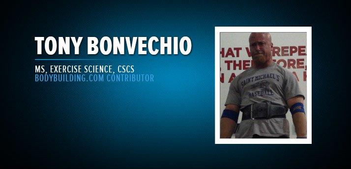 Tony Bonvechio, CSCS